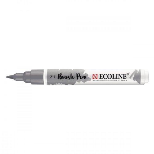 Talens Ecoline Brush Pen - 717 Cold Grey