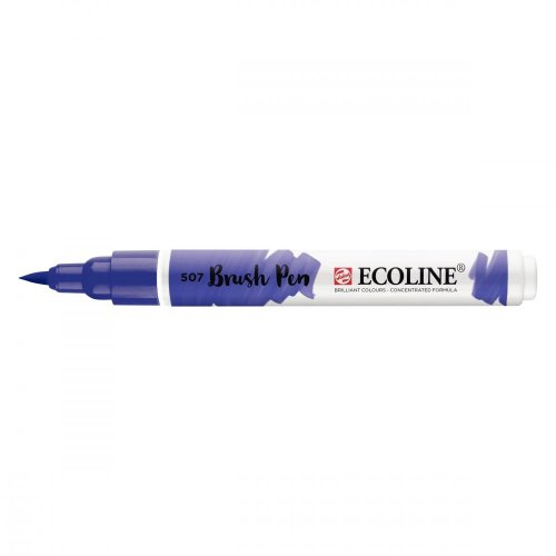 Talens Ecoline Brush Pen - 507 Ultramarine Violet