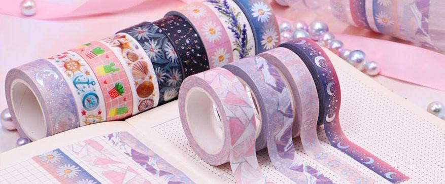 Washi pásky - novinky